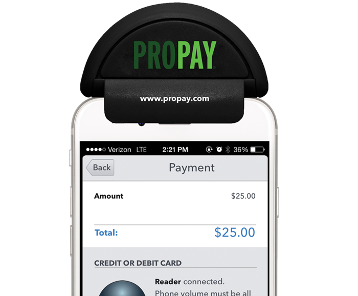 mobile credit card payment app propay. Black Bedroom Furniture Sets. Home Design Ideas