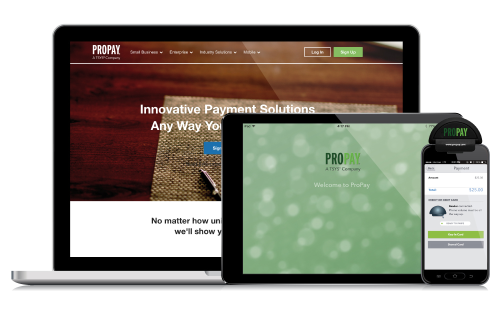 Innovative payment processing for mobile service professionals propay the propay mobile app the propay emv chip card reader the propay jak and propay flash mobile credit card readers allow you to conduct business wherever colourmoves