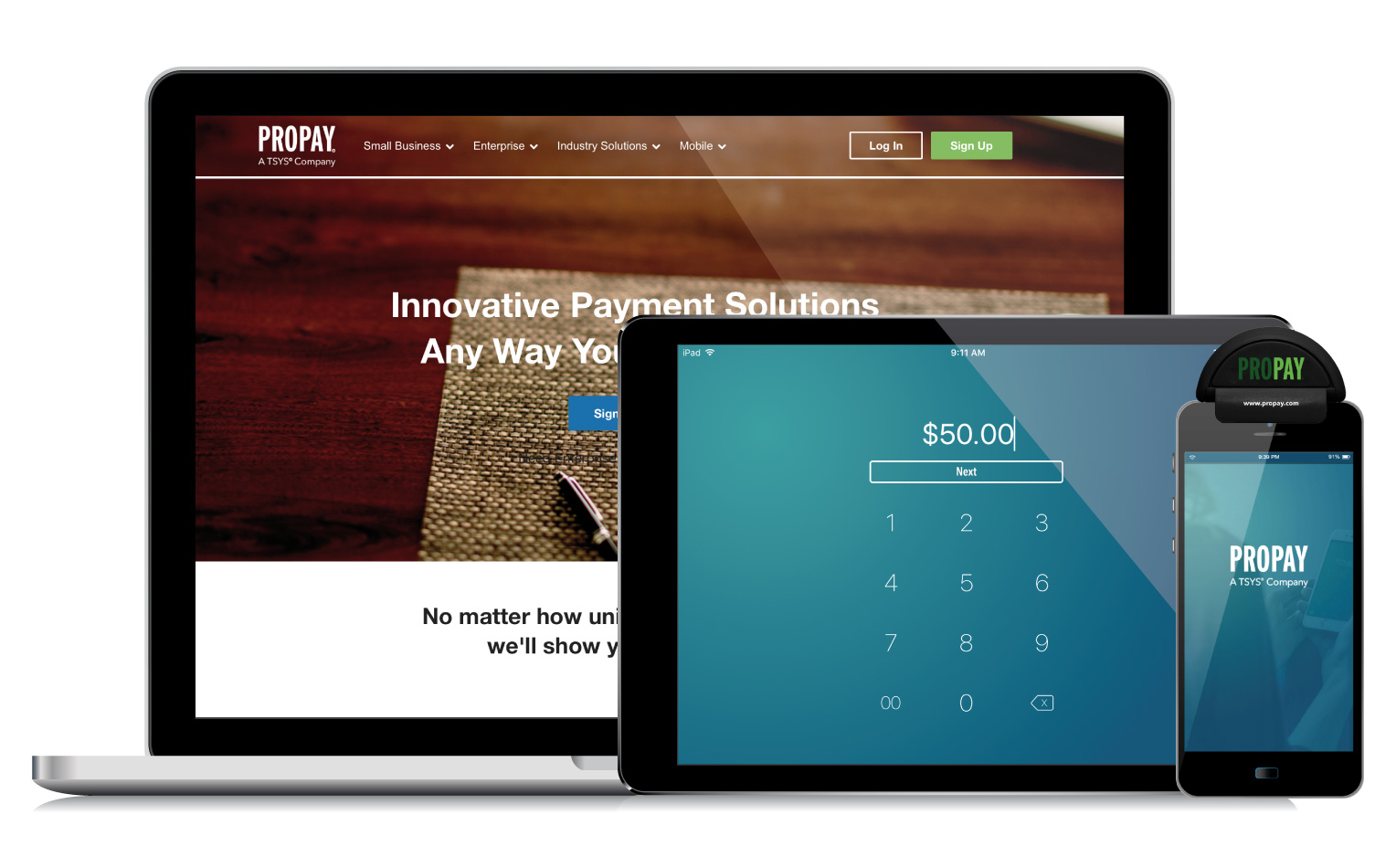 Mobile Credit Card Payment Solutions for Small Businesses | ProPay