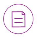 Purple Datasheet Icon