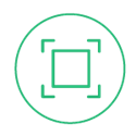 Teal Square Icon