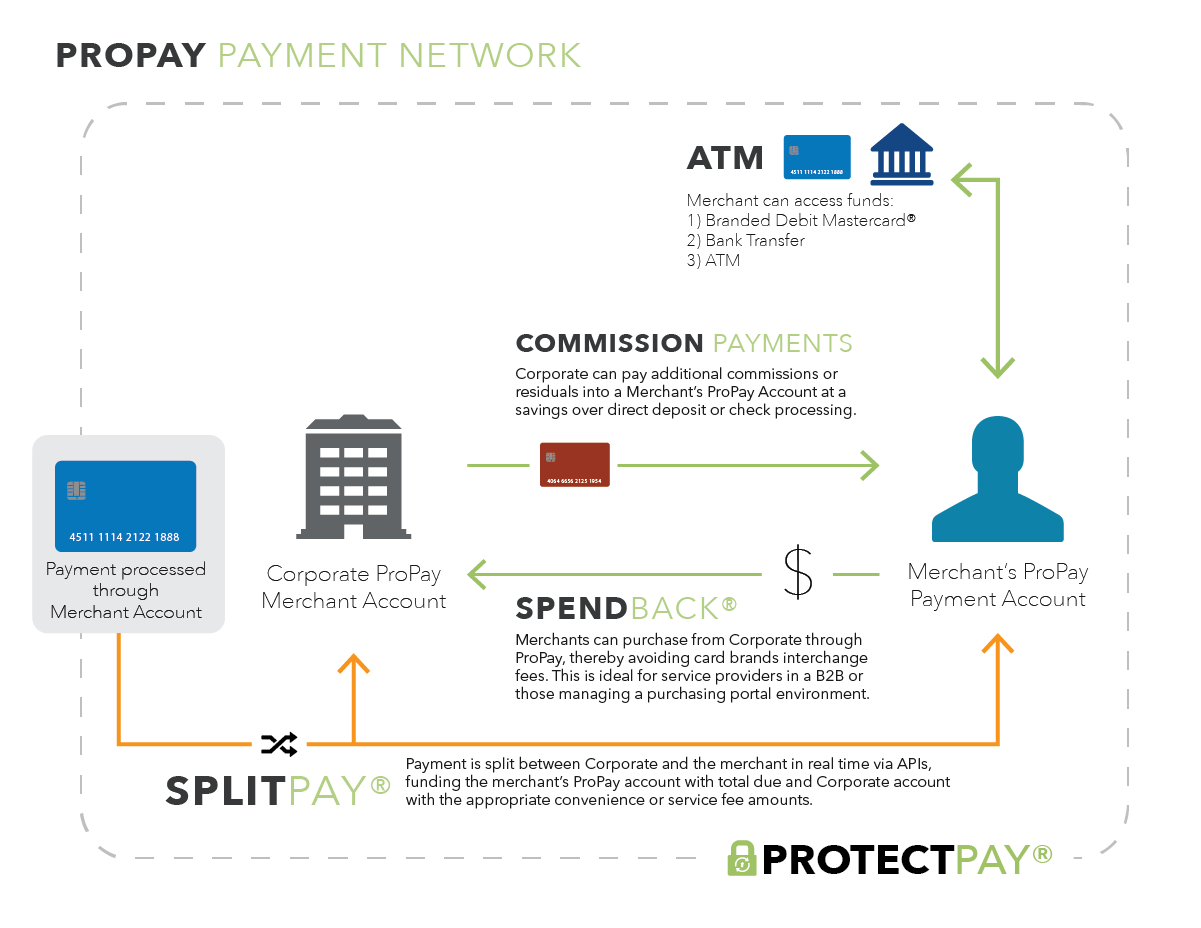 Payment Network Diagram